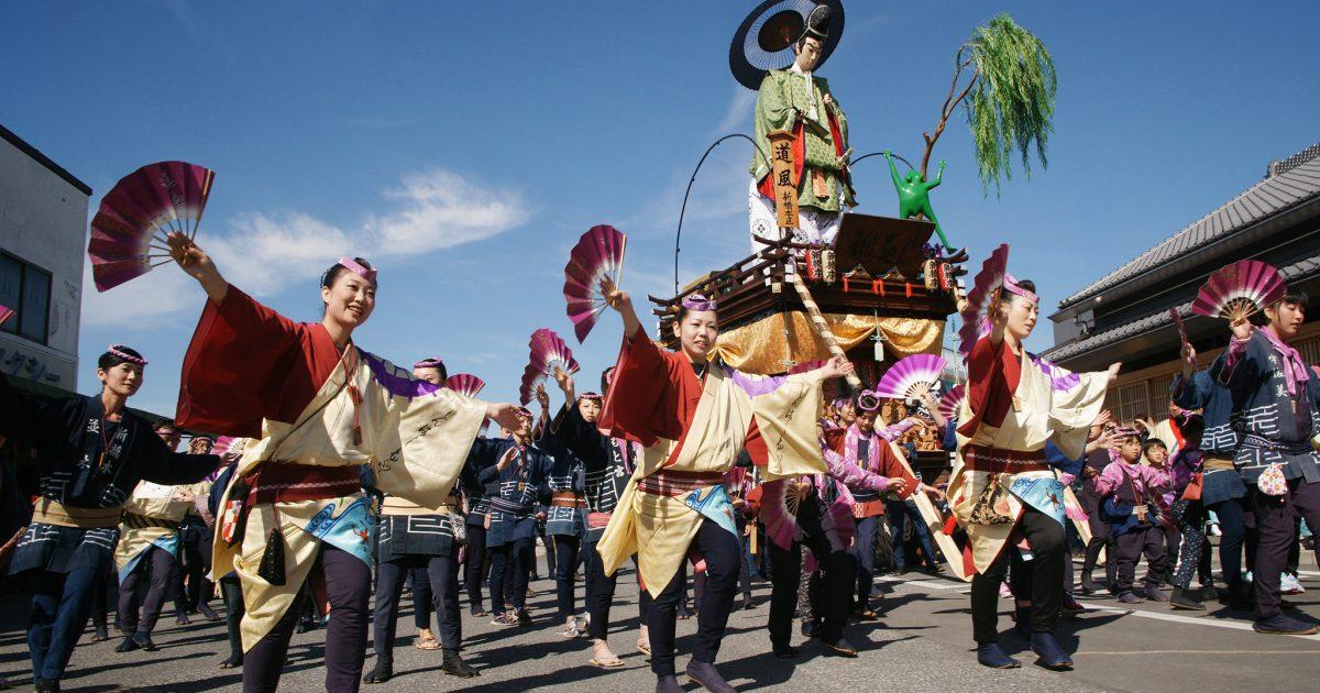 関東三大祭り佐原の大祭夏祭りの山車